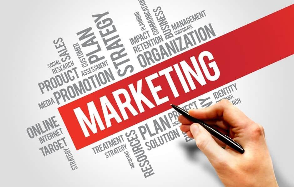 markedsføring hjemmeside